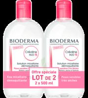 CREALINE TS H2O Solution micellaire sans parfum nettoyante apaisante 2Fl/500ml à MONTPELLIER
