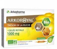 Arkoroyal Gelée royale bio 1000 mg Solution buvable 20 Ampoules/10ml à MONTPELLIER