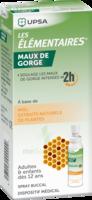 LES ELEMENTAIRES Solution buccale maux de gorge adulte 30ml à MONTPELLIER
