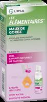 LES ELEMENTAIRES Spray buccal maux de gorge enfant Fl/20ml à MONTPELLIER