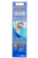 BROSSETTE DE RECHANGE ORAL-B PRECISION CLEAN x 3 à MONTPELLIER