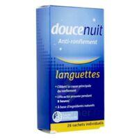 DOUCENUIT ANTIRONFLEMENT LANGUETTES, sachet 28 à MONTPELLIER