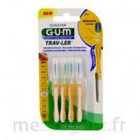GUM TRAV - LER, 1,3 mm, manche jaune , blister 4 à MONTPELLIER