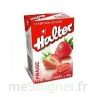 Halter Bonbon sans sucre fraise 40g à MONTPELLIER