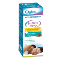 Quies Bi-Pack 2 Sprays buccal et nasale anti-ronflement à MONTPELLIER
