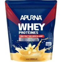 Apurna Whey Proteines Poudre Vanille 750g à MONTPELLIER