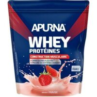 Apurna Whey Proteines Poudre Fraise 750g à MONTPELLIER