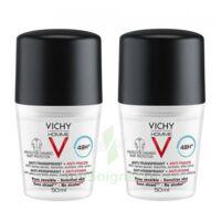 Vichy Homme Déodorant anti-transpirant anti trace 48H 2*Billes/50ml à MONTPELLIER