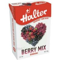 Halter sans sucre Bonbon fruits rouges 40g à MONTPELLIER