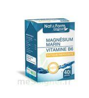 Nat&Form Expert Magnésium+Vitamine B6 Gélules B/40 à MONTPELLIER