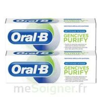Oral B Gencives Purify Dentifrice 2*T/75ml à MONTPELLIER