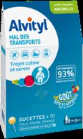 Alvityl Sucette Mal Des Transports B/10 à MONTPELLIER