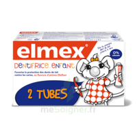 ELMEX DUO DENTIFRICE ENFANT, tube 50 ml x 2 à MONTPELLIER