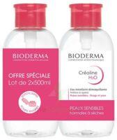 Crealine H2o Solution Micellaire Nettoyante Apaisante Sans Parfum 2fl Pompe Inversée/500ml à MONTPELLIER